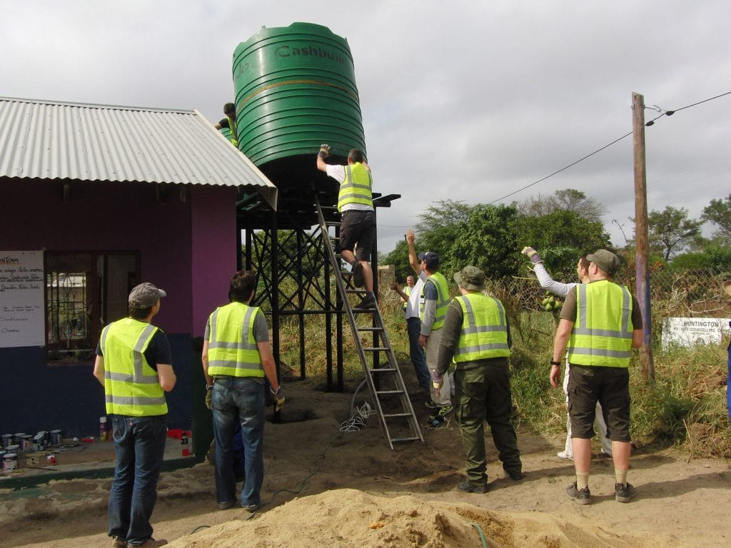 south africa reconstruction day care center